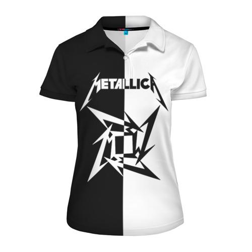 Женская рубашка поло 3D  Фото 01, Metallica