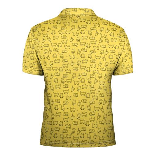 Мужская рубашка поло 3D  Фото 02, котики