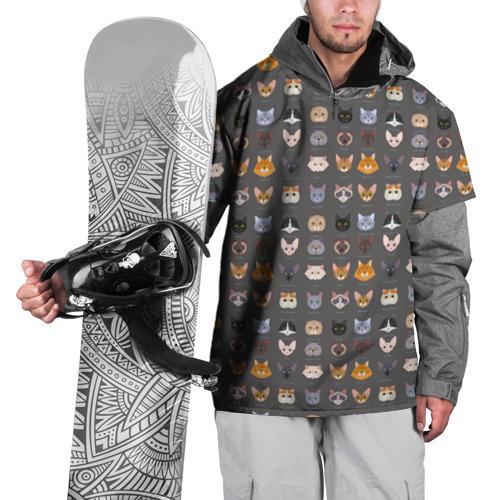 Накидка на куртку 3D  Фото 01, Коты_8