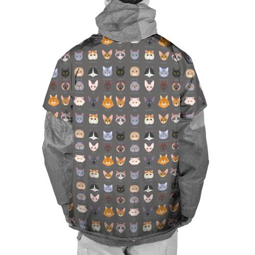 Накидка на куртку 3D  Фото 02, Коты_8