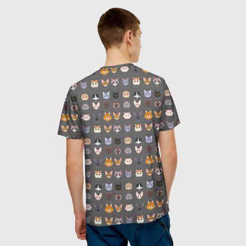 Мужская футболка 3D  Фото 02, Коты_8