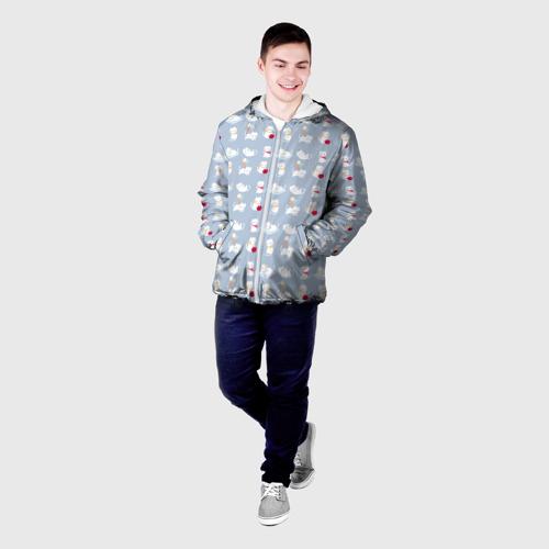 Мужская куртка 3D  Фото 03, Котятки