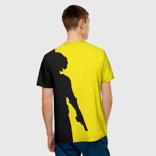Мужская футболка 3D  Фото 02, PUBG