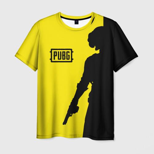 Мужская футболка 3D  Фото 01, PUBG
