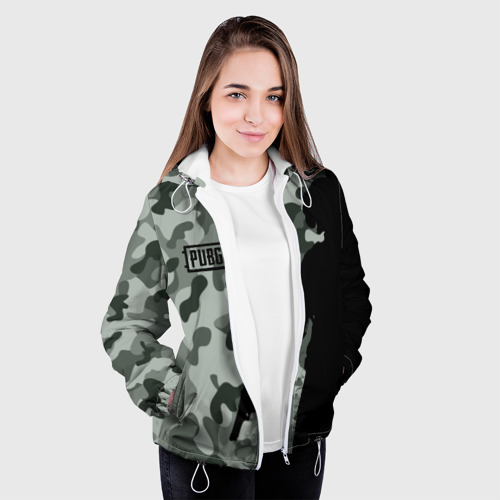 Женская куртка 3D  Фото 04, PUBG