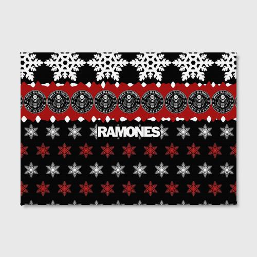 Холст прямоугольный  Фото 02, Праздничный Ramones