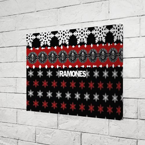 Холст прямоугольный  Фото 03, Праздничный Ramones