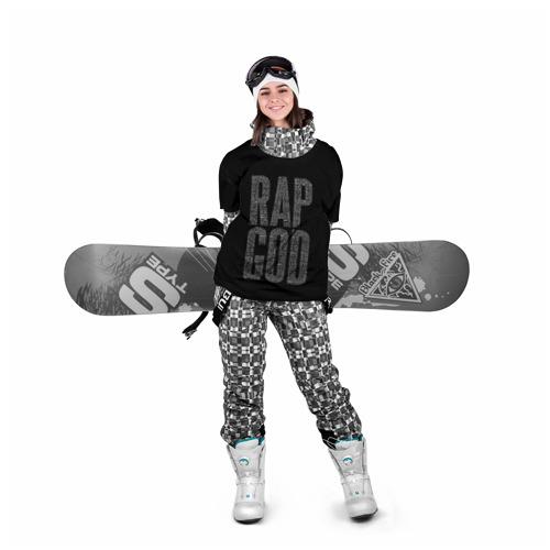 Накидка на куртку 3D  Фото 05, Rap God