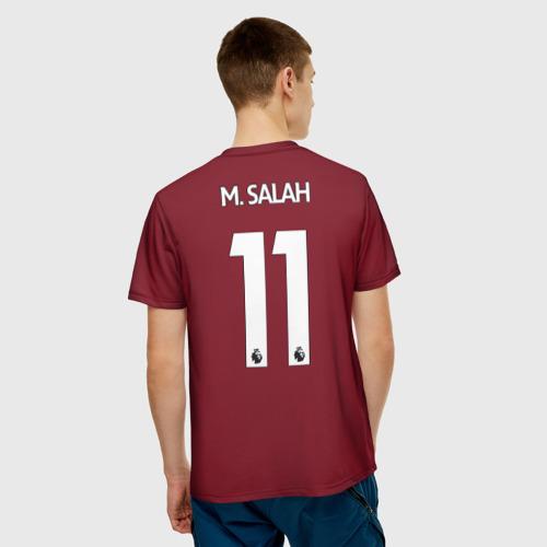 Мужская футболка 3D  Фото 02, M.Salah home 17-18