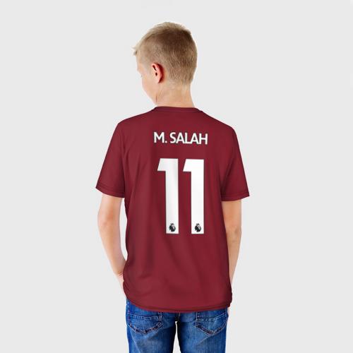 Детская футболка 3D  Фото 02, M.Salah home 17-18
