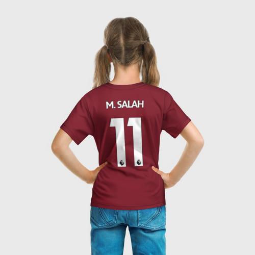 Детская футболка 3D  Фото 04, M.Salah home 17-18