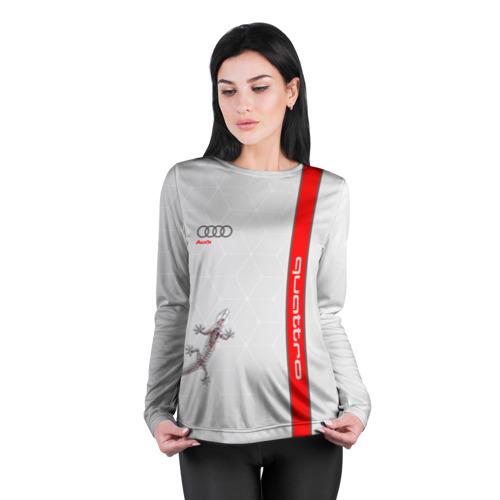 Женский лонгслив 3D для беременных  Фото 04, AUDI QUATTRO
