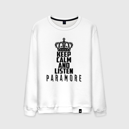 Keep calm and listen Paramore