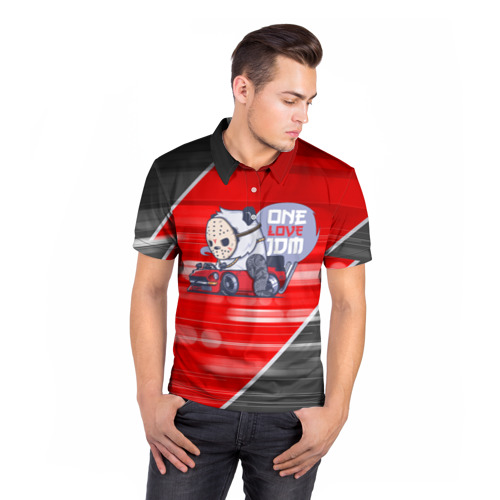 Мужская рубашка поло 3D  Фото 05, ONE LOVE JDM