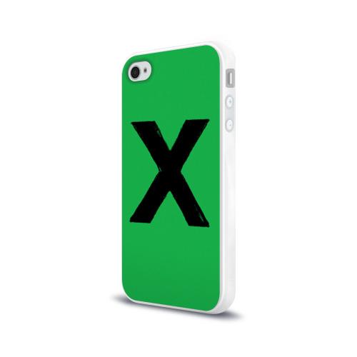 Чехол для Apple iPhone 4/4S силиконовый глянцевый  Фото 03, Ed Sheeran_11