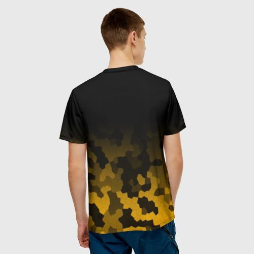 Мужская футболка 3D  Фото 02, PUBG Military