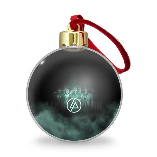 Ёлочный шар с блестками  Фото 01, Группа Linkin Park