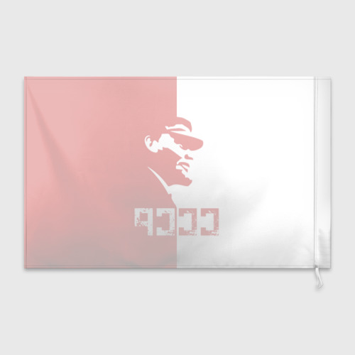 Флаг 3D  Фото 02, Ленин СССР