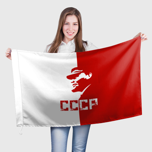 Флаг 3D  Фото 01, Ленин СССР