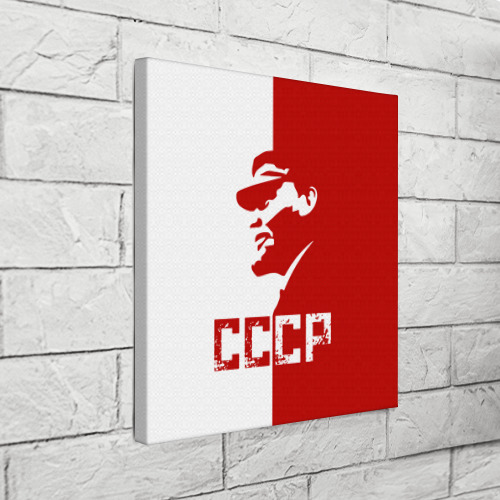 Холст квадратный  Фото 03, Ленин СССР