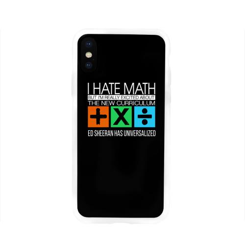 Чехол для Apple iPhone X силиконовый глянцевый Ed Sheeran_27