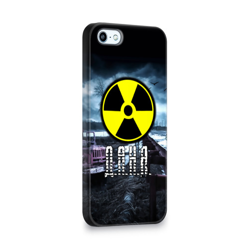 Чехол для Apple iPhone 5/5S 3D  Фото 02, S.T.A.L.K.E.R. - Д.А.Н.Я.
