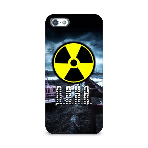 Чехол для Apple iPhone 5/5S 3D  Фото 01, S.T.A.L.K.E.R. - Д.А.Н.Я.