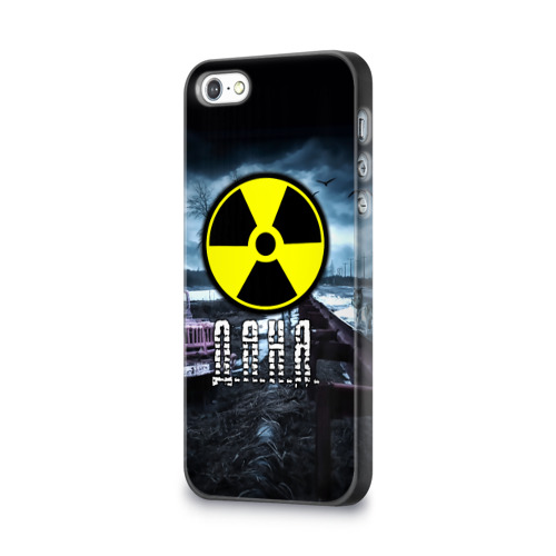 Чехол для Apple iPhone 5/5S 3D  Фото 03, S.T.A.L.K.E.R. - Д.А.Н.Я.