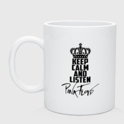 Keep calm and listen Pink Floyd - интернет магазин Futbolkaa.ru