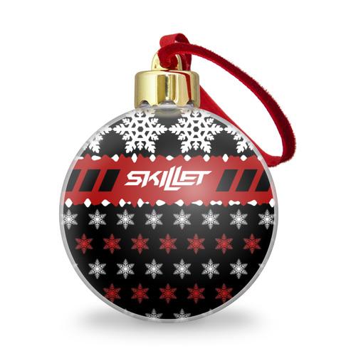 Ёлочный шар с блестками  Фото 01, Праздничный Skillet