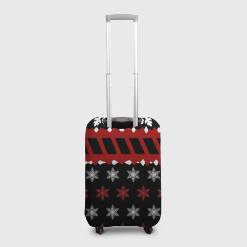 Чехол для чемодана 3D  Фото 02, Праздничный Skillet