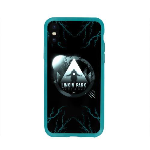 Чехол для Apple iPhone X силиконовый глянцевый Linkin Park