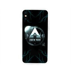 Чехол для Apple iPhone X силиконовый глянцевыйLinkin Park