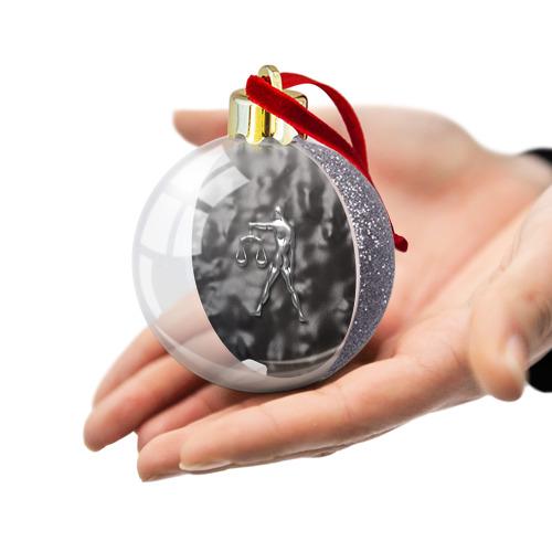 Ёлочный шар с блестками  Фото 03, Весы