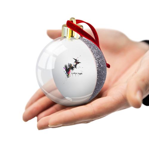 Ёлочный шар с блестками  Фото 03, Linkin Park