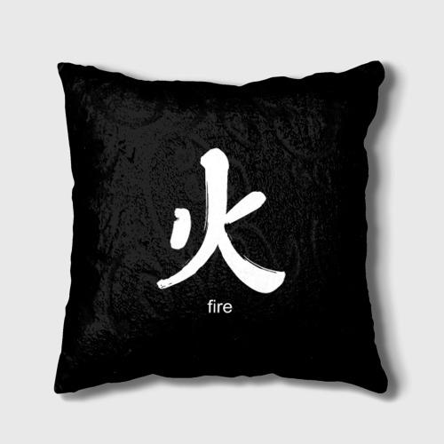 Подушка 3D  Фото 01, symbol fire