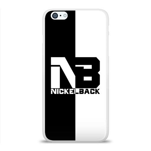 Чехол для Apple iPhone 6Plus/6SPlus силиконовый глянцевый  Фото 01, Nickelback
