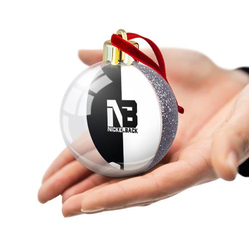 Ёлочный шар с блестками  Фото 03, Nickelback
