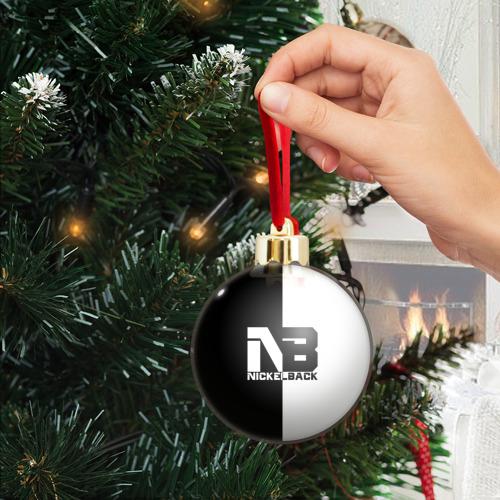 Ёлочный шар с блестками  Фото 04, Nickelback