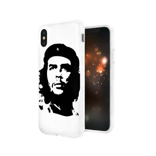 """Чехол для Apple iPhone X силиконовый глянцевый  Фото 03, \""""Ч\"""""""