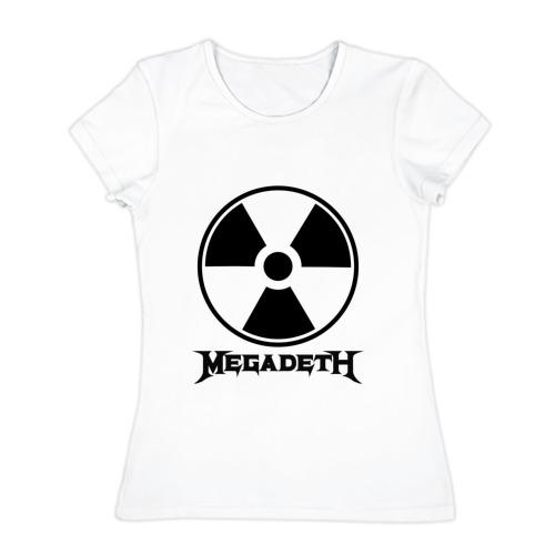 Женская футболка хлопок  Фото 01, Megadeth