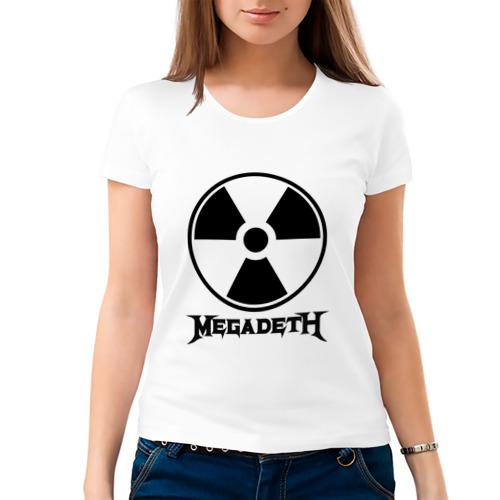 Женская футболка хлопок  Фото 03, Megadeth
