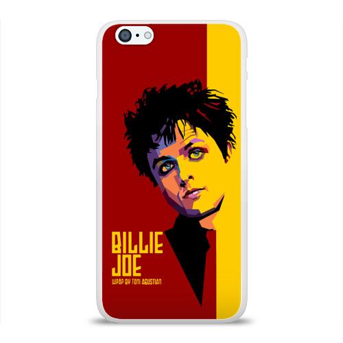 Чехол для Apple iPhone 6Plus/6SPlus силиконовый глянцевый  Фото 01, Green day Armstrong Billy Joe