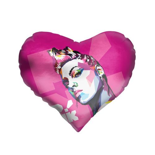Подушка 3D сердце  Фото 01, Pink