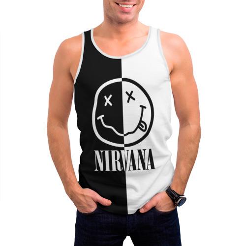 Мужская майка 3D  Фото 03, Nirvana