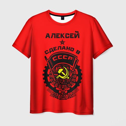 Мужская футболка 3D  Фото 03, Алексей - сделано в СССР