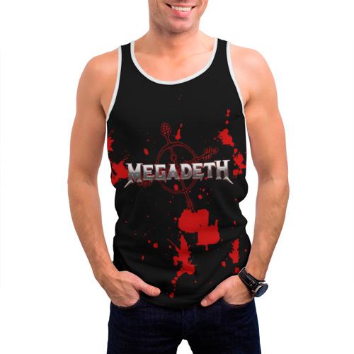 Мужская майка 3D  Фото 03, Megadeth