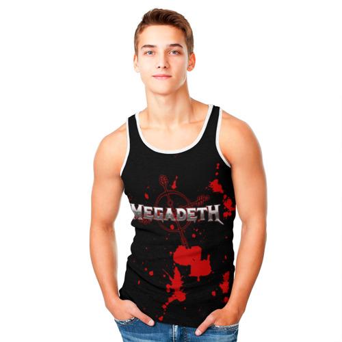 Мужская майка 3D  Фото 05, Megadeth