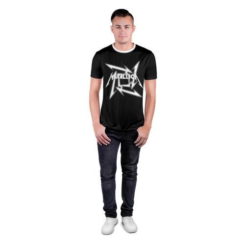 Мужская футболка 3D спортивная  Фото 04, Metallica