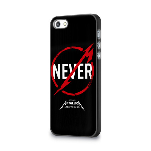 Чехол для Apple iPhone 5/5S 3D  Фото 03, Metallica